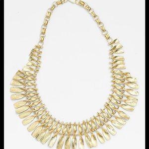 Kendra Scott Sandy Necklace   Gold